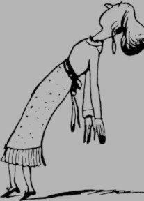 woman fainting