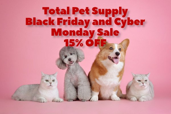 Total Pet Supply Black Friday Deal 2019
