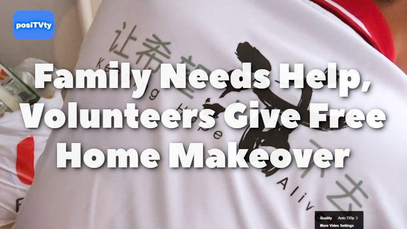 Family Needs Help Volunteers Give Free Home Makeover