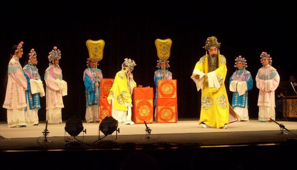 Chinese Opera to Entertain the Ghosts