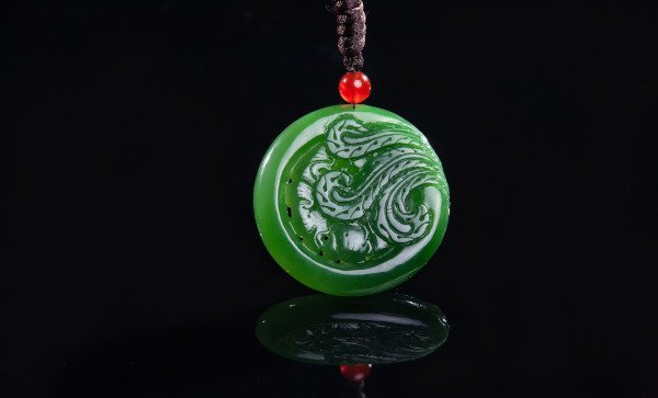 Jade Pendant (not the one my ex-colleague loaned me, for illustration only)